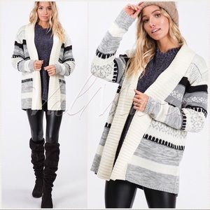 Winter harmony cardigan sweater